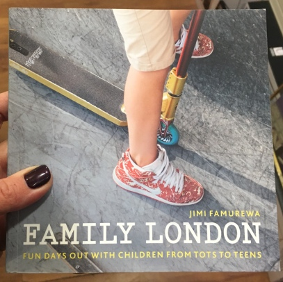 family london book, pocketnannies