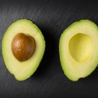 Fresh and healthy avocado fruit