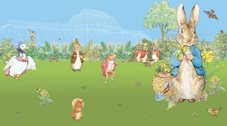 A day out with Peter Rabbit, Kew Gardens