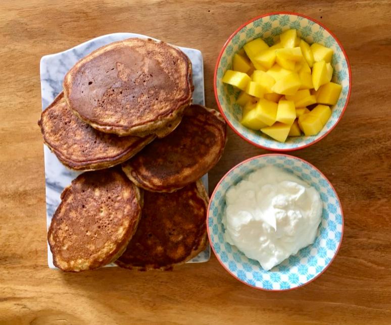pocketnannies banana pancakes