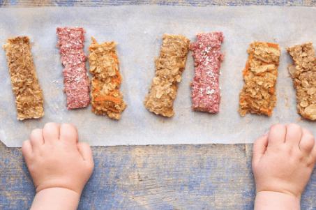 healthy little foodies, porridge fingers