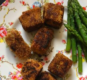 Salmon BBQ Bites pocketnannies