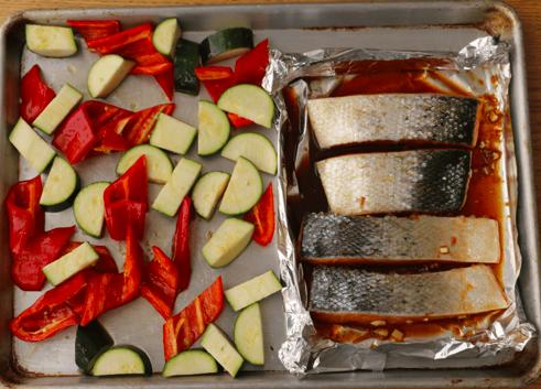 Salmon by feeding bytes