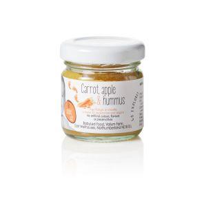 Carrot Apple & Hummus